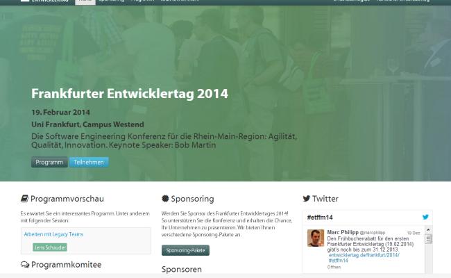 Frankfurter Entwicklertag 2014