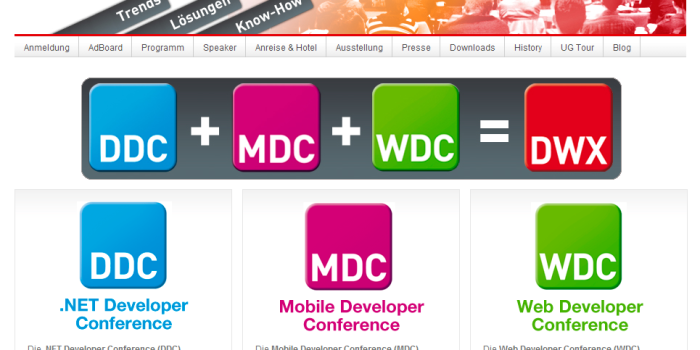 DWX Developer Week 2014